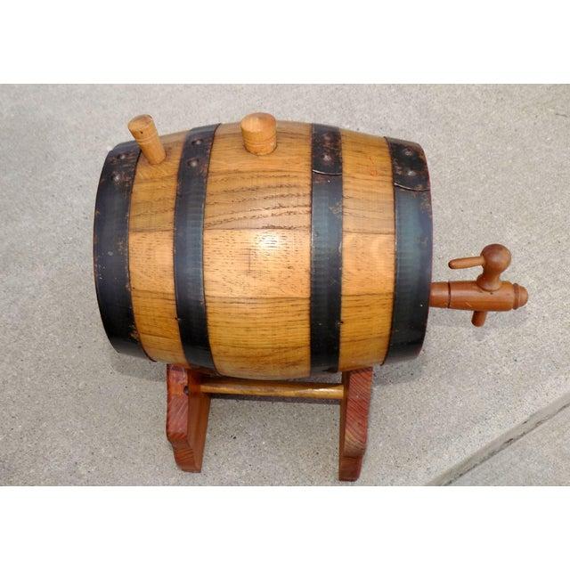 Lowenbrau Beer Wood Keg & Base - Image 9 of 11