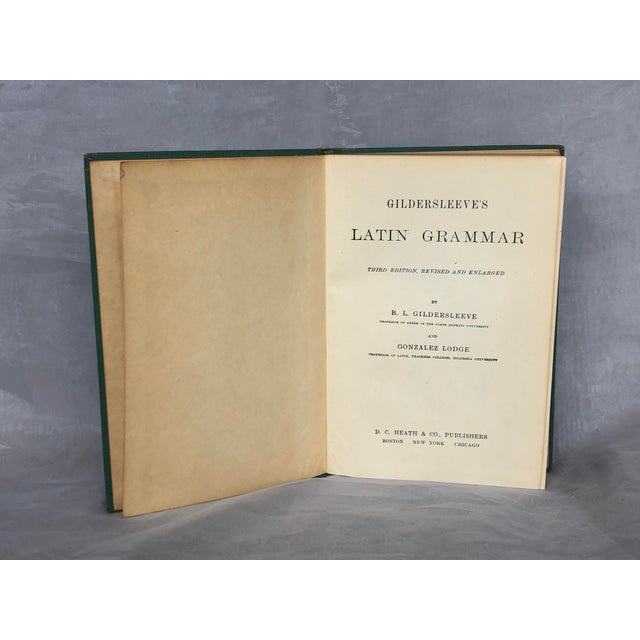 Antique Latin Textbook For Sale In New York - Image 6 of 13