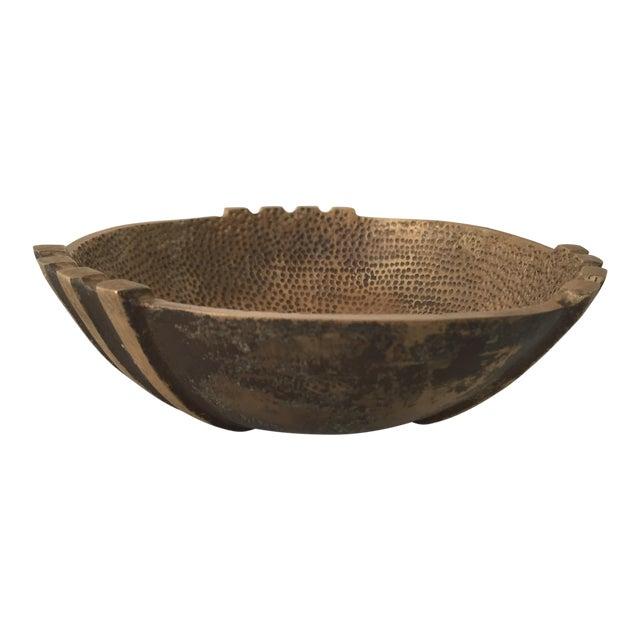 1960s Vintage Maurice Ascalon Bronze Bowl For Sale