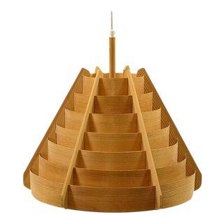 Hans Agne Jakobsson Pine Veneer Pendant Light