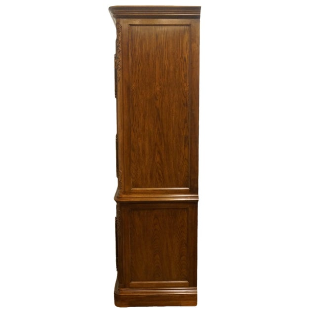 Heritage Avallon Collection Country French Media Armoire For Sale - Image 9 of 13