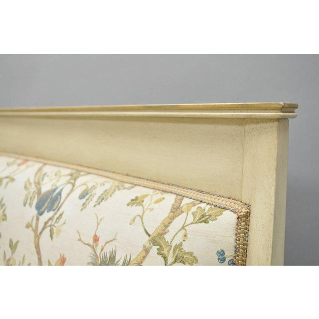Early 20th Century Vintage French Empire Style Settee For Sale In Philadelphia - Image 6 of 11