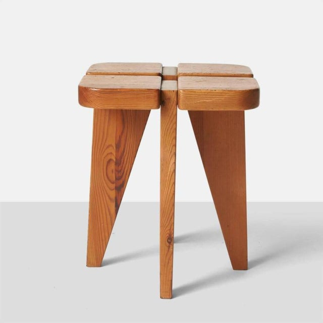 1960s 1960s Lisa Johansson Pape Dining Table and Stools - Set of 4 For Sale - Image 5 of 9