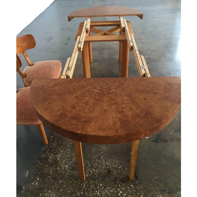 Wood Extendable Dining Table by Axel Einar Hjorth, 1930s For Sale - Image 7 of 9