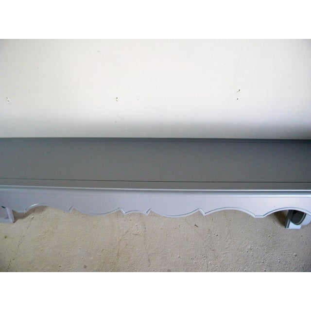 Vintage Painted Wall Console - Image 6 of 6