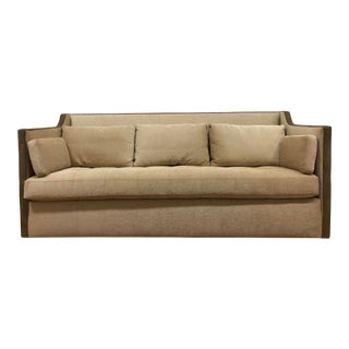 j.f. Fitzgerald Custom Upholstered Sofa For Sale
