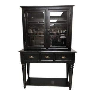 Cottage Style Buffet/Hutch - 2 Pieces