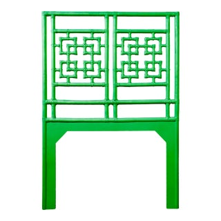 Palm Springs Headboard Twin - Bright Green For Sale