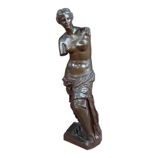 19th Century Barbedienne Bronze Sculpture of Venus - C.1840s For Sale