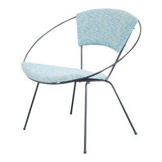 Vintage Mid Century Joseph Cicchelli Circle Chair For Sale