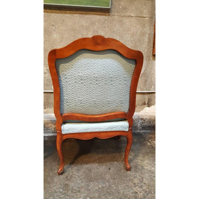 Louis XV Style Bergere Lounge Chairs - Pair - Image 4 of 6