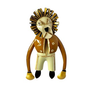French Lion Pin For Sale