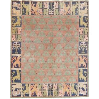 Mansour Original Handmade Modern Tibetan Rug For Sale