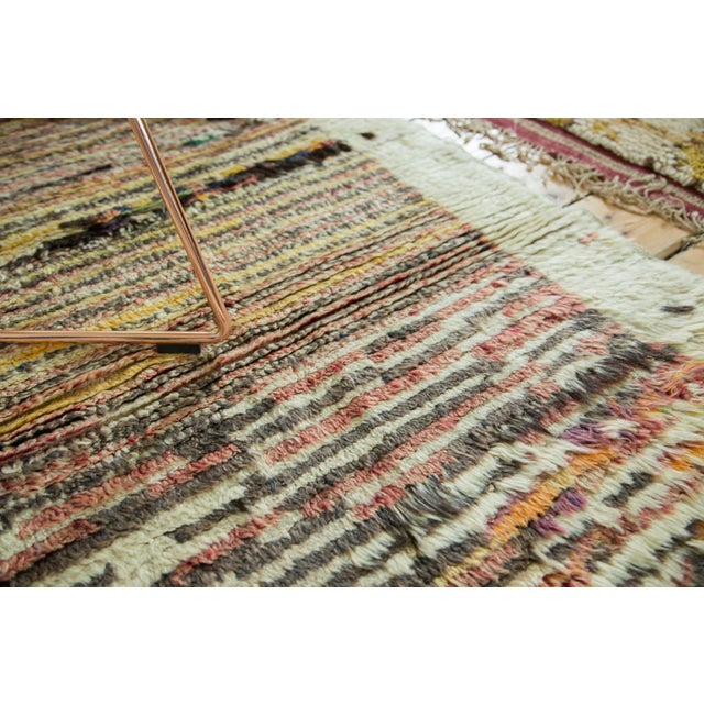 "Vintage Tulu Rug - 2'11"" X 4'4"" For Sale In New York - Image 6 of 6"