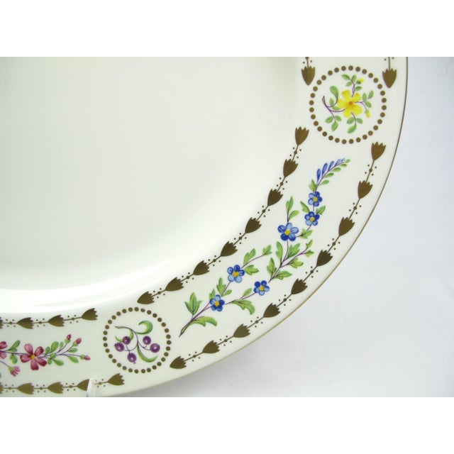 Traditional Large Royal Worcester Trianon Serving Platter For Sale - Image 3 of 7