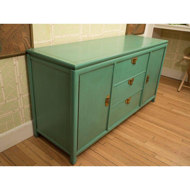 Thomasville Turquoise Chest - Image 9 of 11