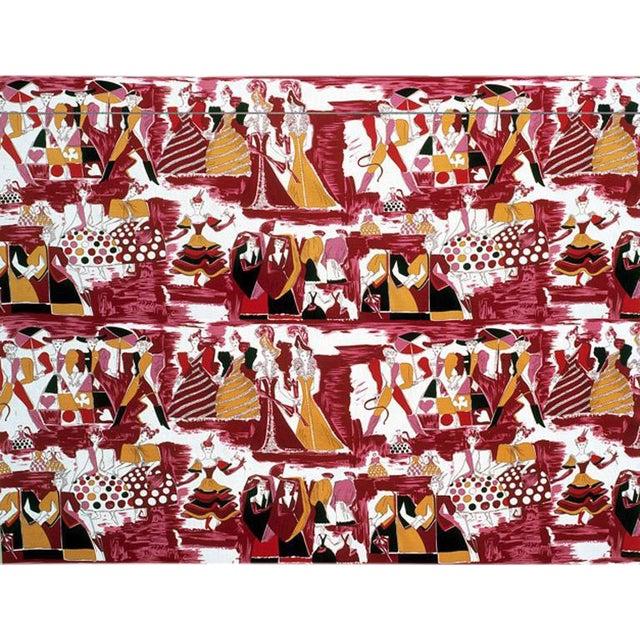 Balletto Alla Scala Fabric by Gio Ponti For Sale