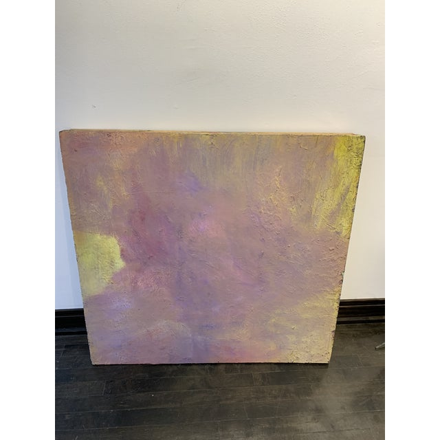 1970s Abstract Large Scale Pastel Painting by Chicago Art Institute Professor For Sale - Image 5 of 5