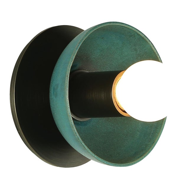 Emmet Sconce Small by Pax Lighting For Sale