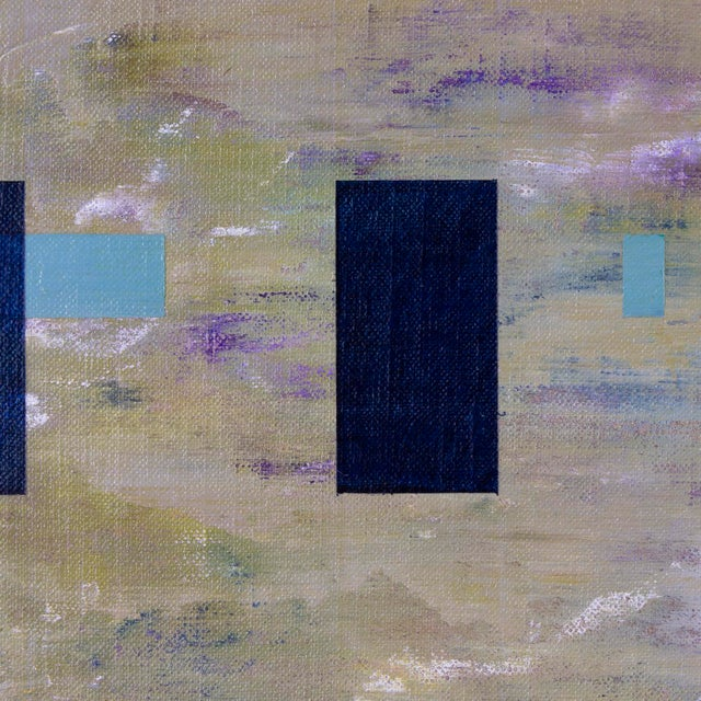 """2010s """"Happy in January"""" Abstract Painting by Brandon Woods For Sale - Image 5 of 6"""
