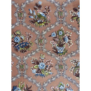 Vintage Floral Print Cotton - 8 Yards For Sale