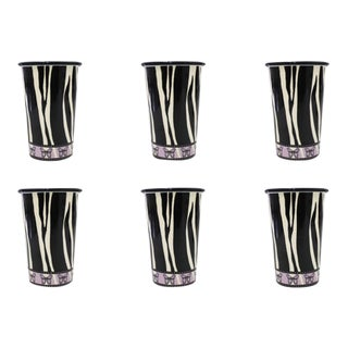 The Zephyr Handmade Tumblers Set of 6 For Sale