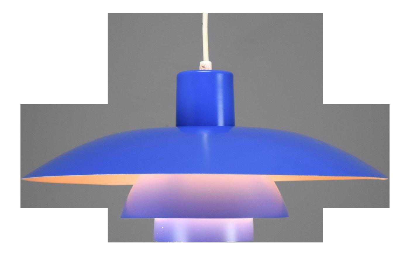 Vintage lighting mid century modern Flush Mount Vintage Poul Henningsen Ph 43 Pendant Light For Sale Chairish Vintage Used Midcentury Modern Pendant Lighting Chairish