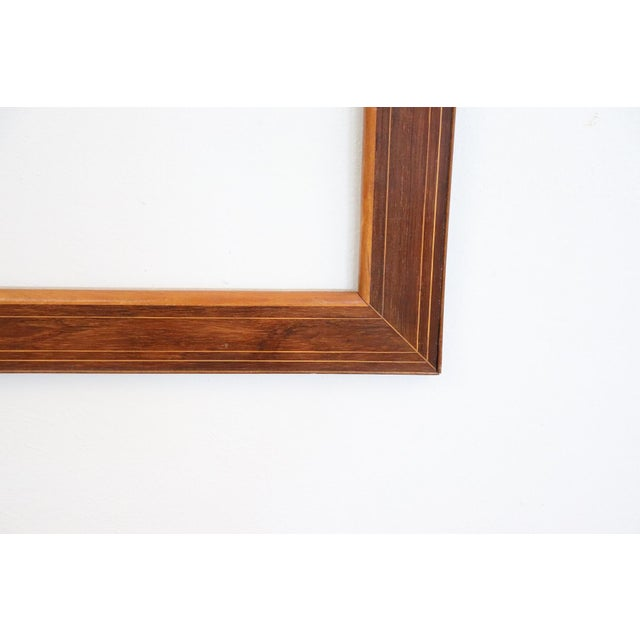 External measures cm 78 X cm 61 Inside cm 63 X cm 46 Refined frame from circa 1825 in the middle of the period Charles X,...