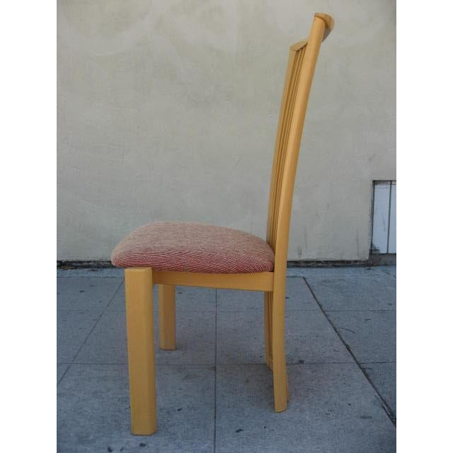 Pietro Costantini Italian Chairs By Pietro Costantini - Set of 6 For Sale - Image 4 of 5