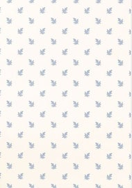 Image of Blue and White Wallpaper