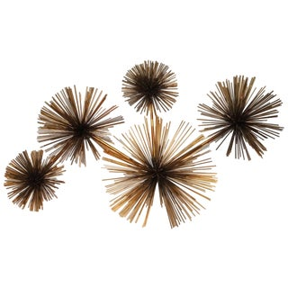 Curtis Jere Wall Sea Urchin Sculpture For Sale