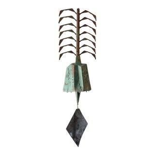 Large Paolo Soleri Bronze Windbell, Circa 1970 For Sale
