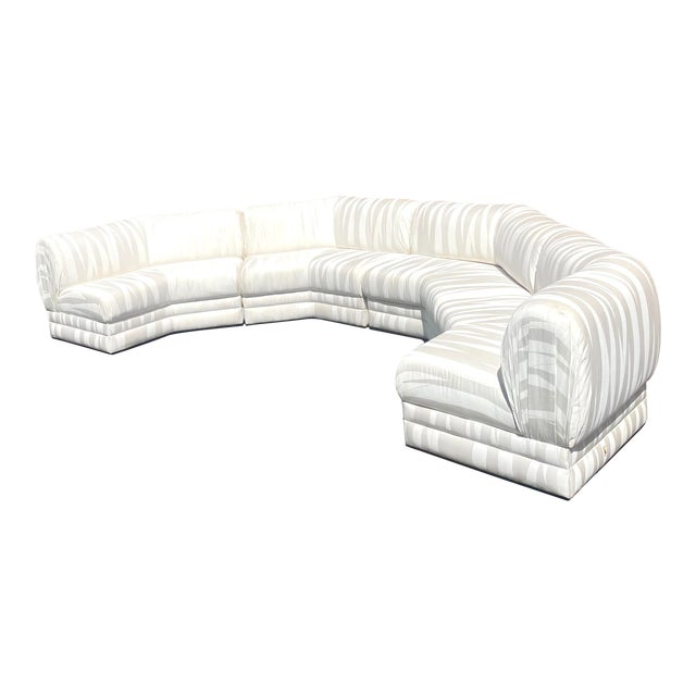 Midcentury Milo Baughman for Thayer Coggin Sectional Sofa For Sale