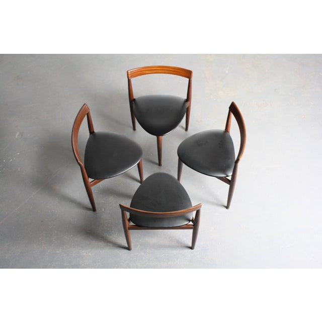 Rosewood Hans Olsen Dining Chairs - Set of 4 - Image 4 of 6