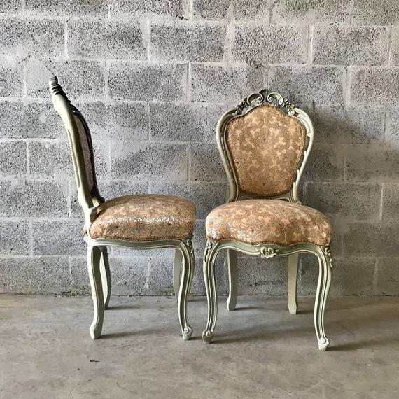 1900s Vintage Louis XVI Chairs- A Pair For Sale - Image 10 of 11