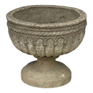 English Garden Stone Urns or Planters 'Individually Priced' For Sale
