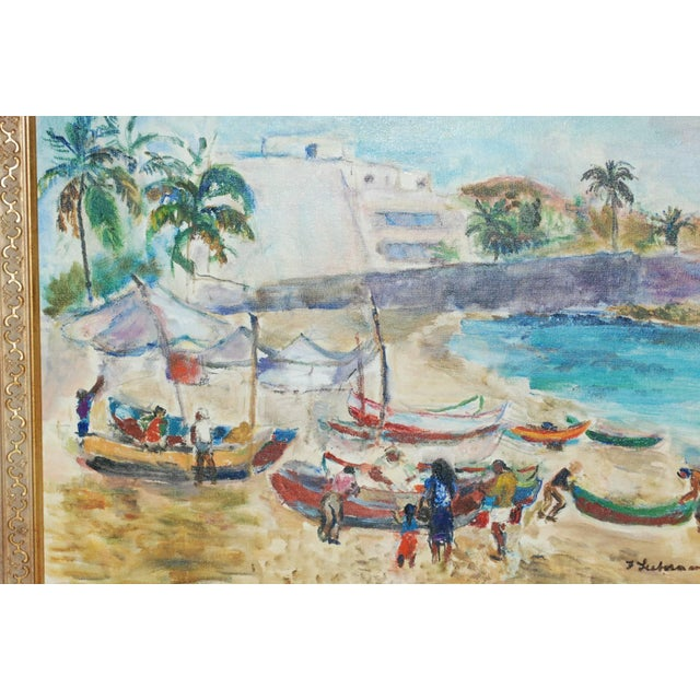 1940s Frances Beatrice Lieberman Painting For Sale - Image 5 of 8