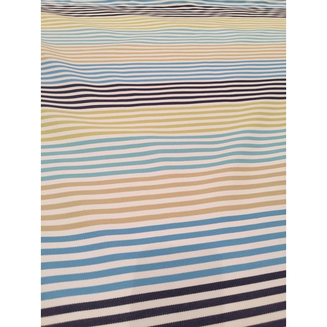 Zoffany Striped Fabric Remnant For Sale In Washington DC - Image 6 of 6