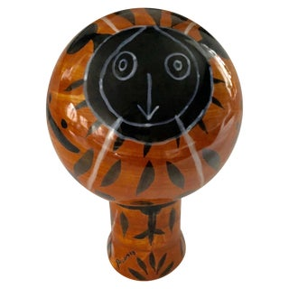 Padilla Pottery Limited Edition Sculpture Inspired by Picasso For Sale