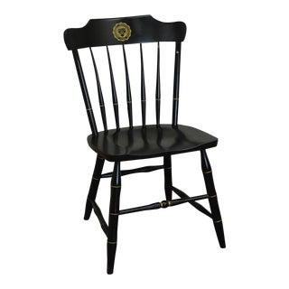 S. Bent & Bros. University of Pennsylvania Black Windsor Side Chair For Sale