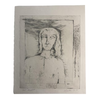 """For Godot"" Etching by Dellas Henke 1079 For Sale"