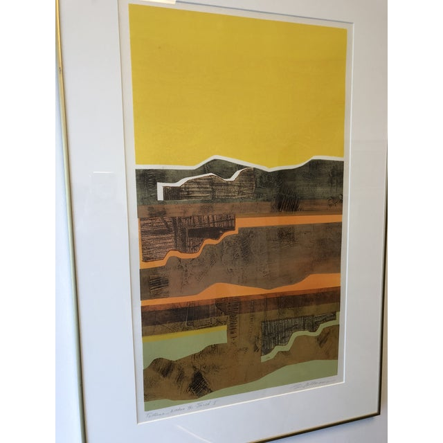 Mixed-Media Eric Bellman Mixed Media Abstract of Southwest For Sale - Image 7 of 11
