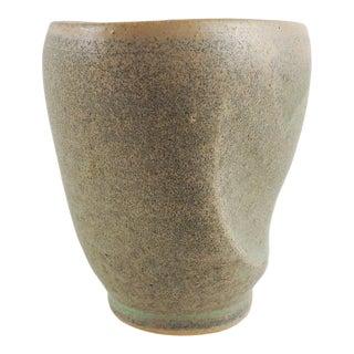 Handmade Studio Pottery Vase For Sale