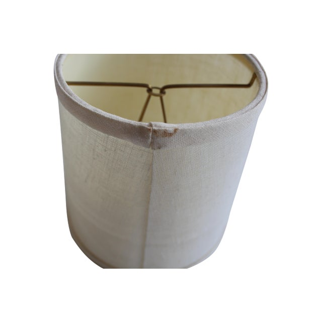 Clip-on Beige Linen Sconce Shades - A Pair - Image 4 of 5