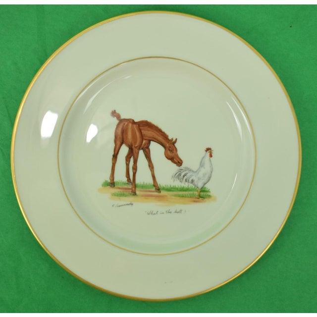 Ceramic 1950s Vintage Frank Vosmanksy Dinner Plate For Sale - Image 7 of 7