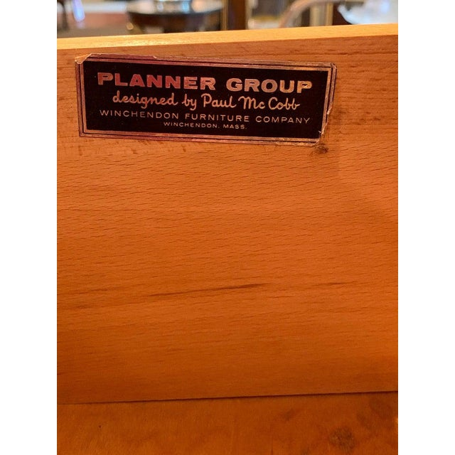 Wood Paul McCobb Modular Cabinet or Dresser for the Planner Group For Sale - Image 7 of 13