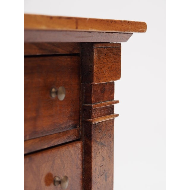 Early 19th Century Miniature French Provincial Empire Commode For Sale - Image 5 of 7