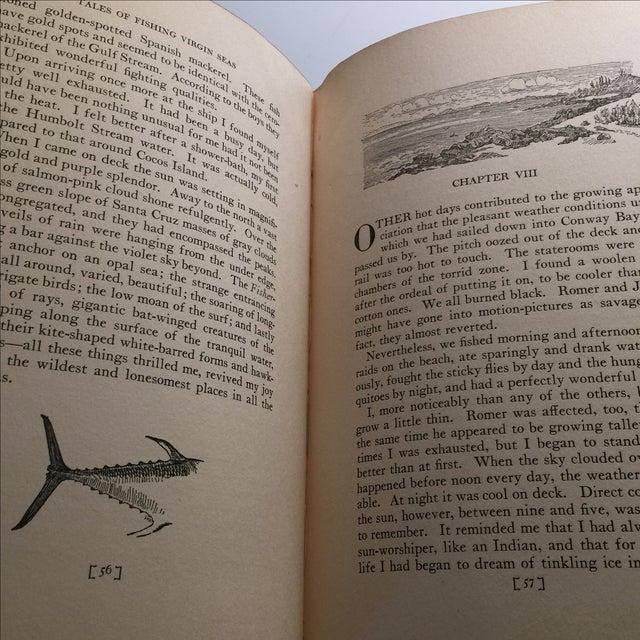 "1925 ""Tales of Fishing Virgin Seas"" by Zane Grey - Image 9 of 11"
