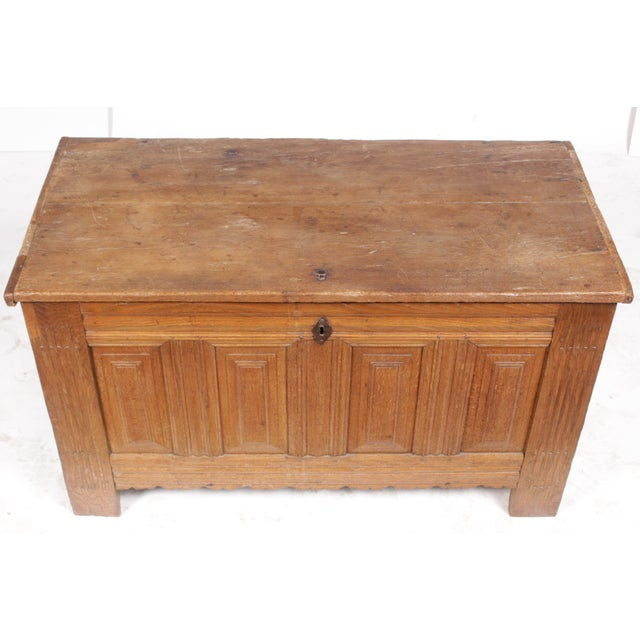19th-C. Dowry Chest - Image 7 of 11