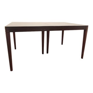 Mid Century Modern Expandable Dining Table For Sale